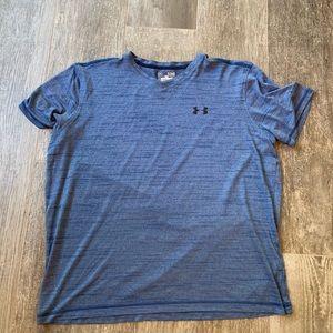 Men's Under Armour Blue T-Shirt